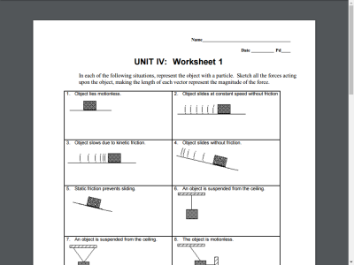 Printables Force Diagrams Worksheet force diagrams worksheet bloggakuten collection of bloggakuten