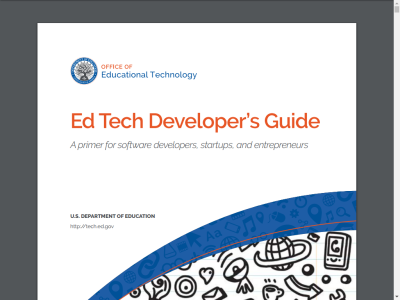 Thumbnail for Ed Tech Developer's Guide resource