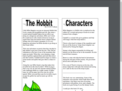 the hobbit essay conclusion The hobbit by j r r tolkien this essay the hobbit by j r r tolkien and other 63,000+ term papers, college essay examples and free essays are available now on reviewessayscom.