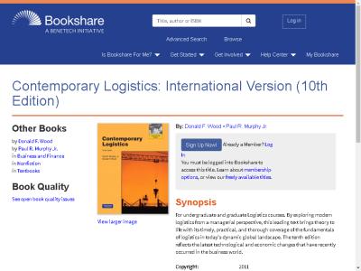 Gary Kuhlmann - Contemporary Logistics (10th Edition) downloads