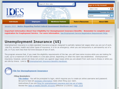 Unemployment Insurance And Taxes